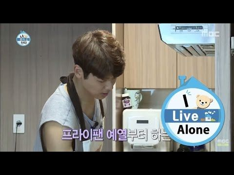 [I Live Alone] 나 혼자 산다 - Kang Min-hyuk, eat three meals packed 'beef'! 20150626 - YouTube