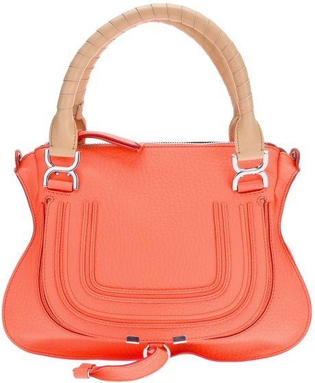 8ce13a38 Women's Orange Marcie Tote | ORANGE COLOR PANTONE | Chloe purses ...