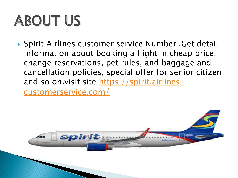Spirit Airlines customer service Number Spirit airlines