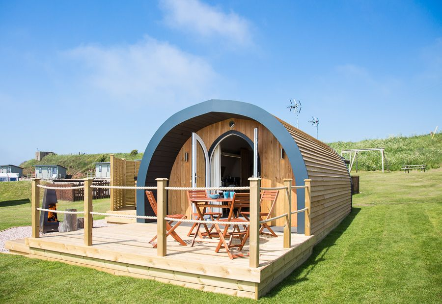 The Brecon Glamping Pod Arch building, Building, Glamping