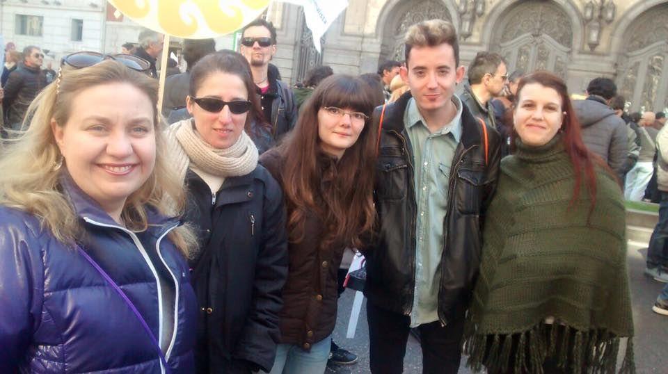 Manifestación en defensa del lobo ibérico 2016