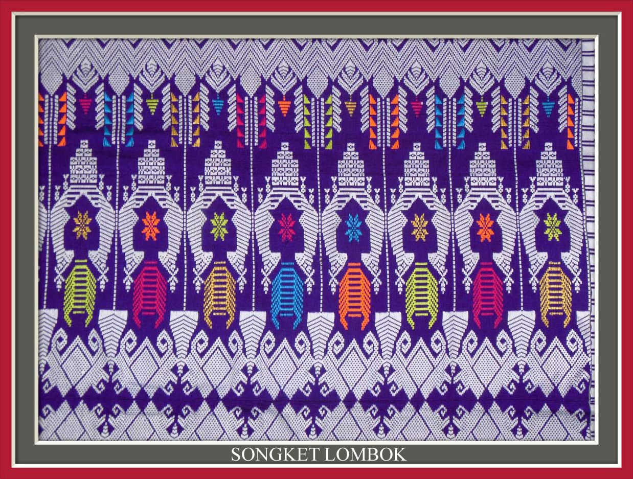 Songket Lombok Traditional Fabric 365a2850ee