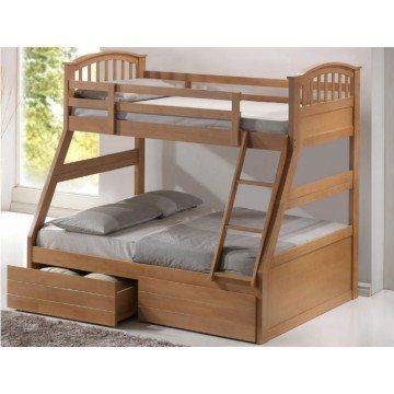 The Artisan Bed Company 3 Sleeper Bunk Bed From 449 99 With Free