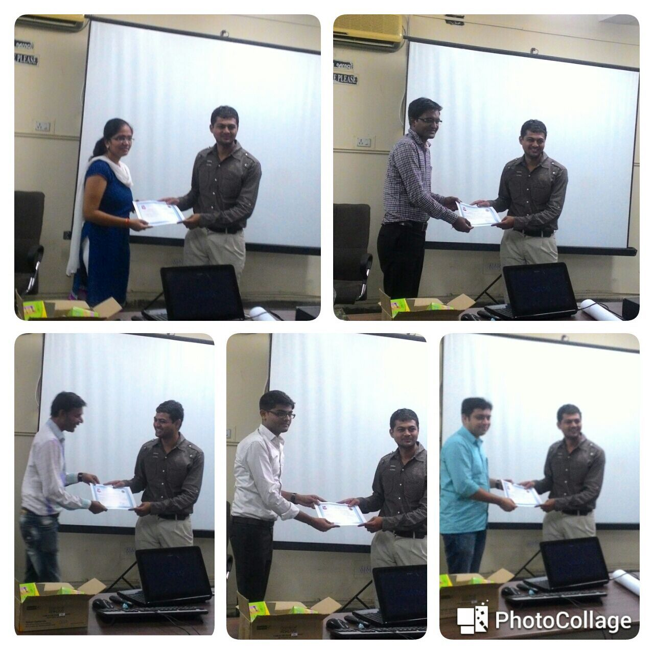 IT faculty members receiving Design Engineering