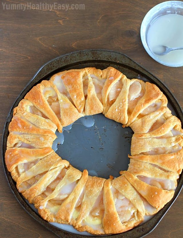 Apple Cream Cheese Breakfast Pastry Only I D Use Fresh Apples And Cook Them