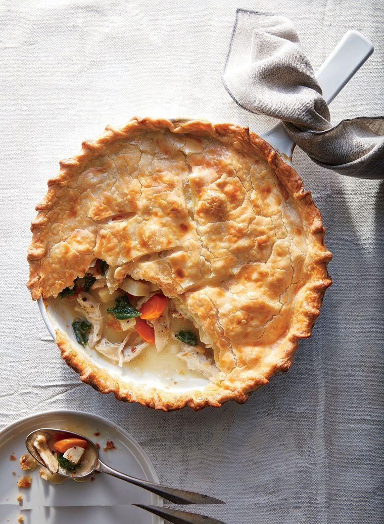 torta-salata-ricetta-pollo-patate   Chicken recipes, Pie ...