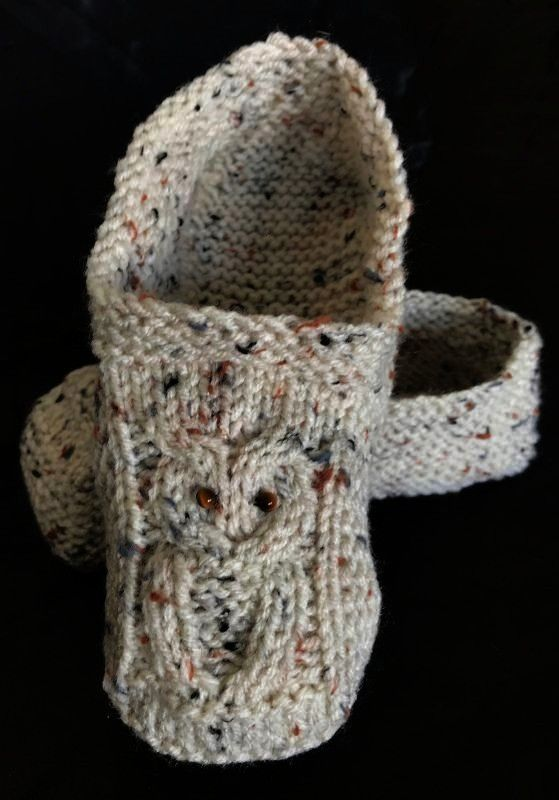 slippers pattern saved in ravelry library and downloaded on phone  Knitted owl slippers pattern saved in ravelry library and downloaded on phone Knitted owl slippers patt...