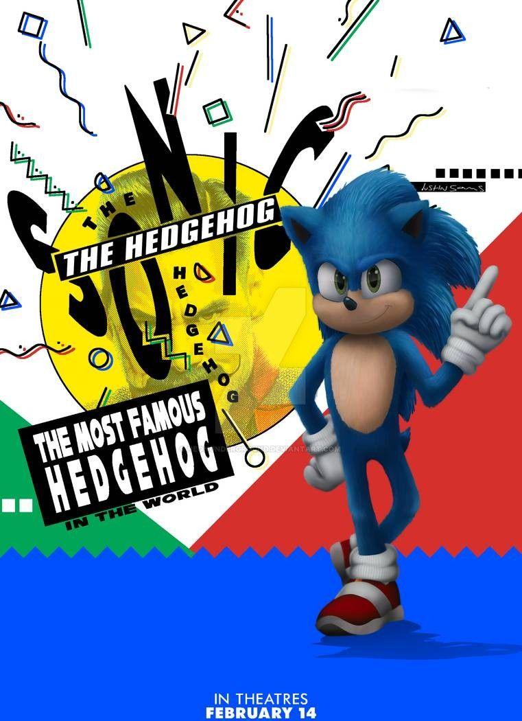 Sonic Movie Poster By Neonunderground On Deviantart Sonic