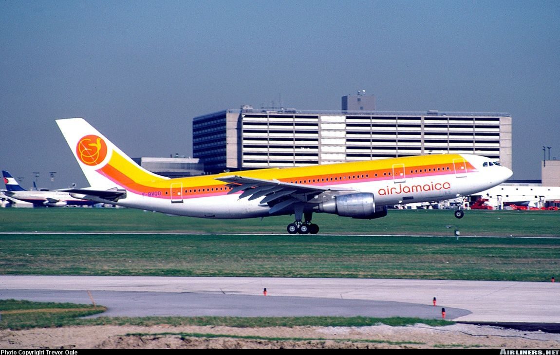 Airbus A300B4203, Air Jamaica (leased from Air France), F