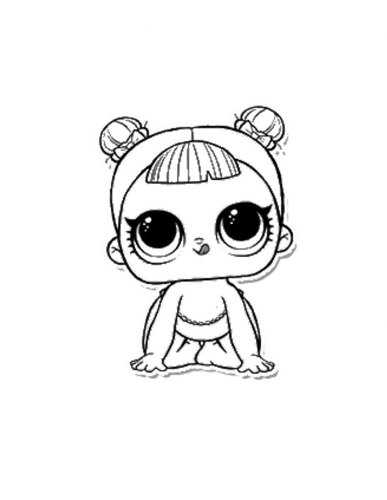 Lol Doll Coloring Pages To Print 101 Coloring Cute Coloring Pages Lol Dolls Penguin Coloring Pages