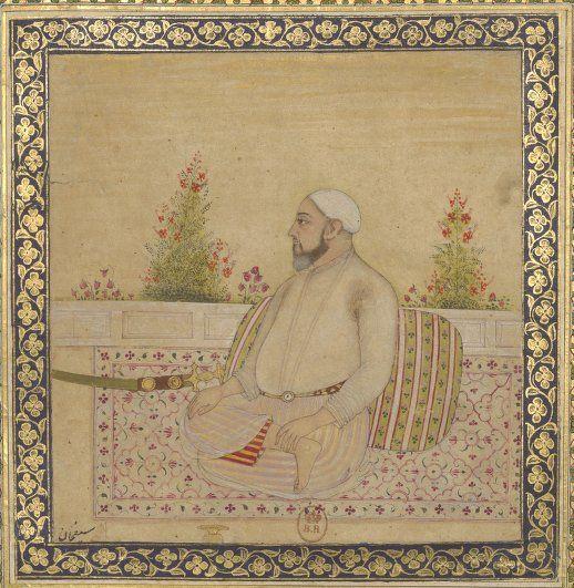 Album de miniatures indiennes  scènes de genre, illustrations