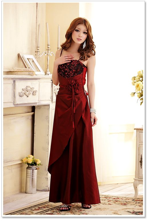 long evening dress in fashion k3106 Red [k3106] $15.32 : Yuki ...