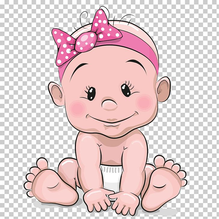 Infant Girl Cartoon Illustration Cute Baby Girl Animated Baby Png Clipart Detskie Printy Detskie Kartiny Illyustracii