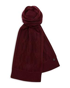 822ce7e5be6 TED BAKER FOSCARF CABLE KNIT SCARF.  tedbaker
