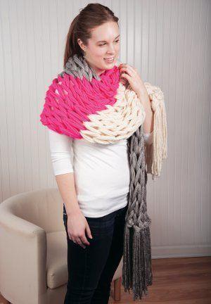 Color Block Wrap Color Blocking Wraps And Knit Patterns