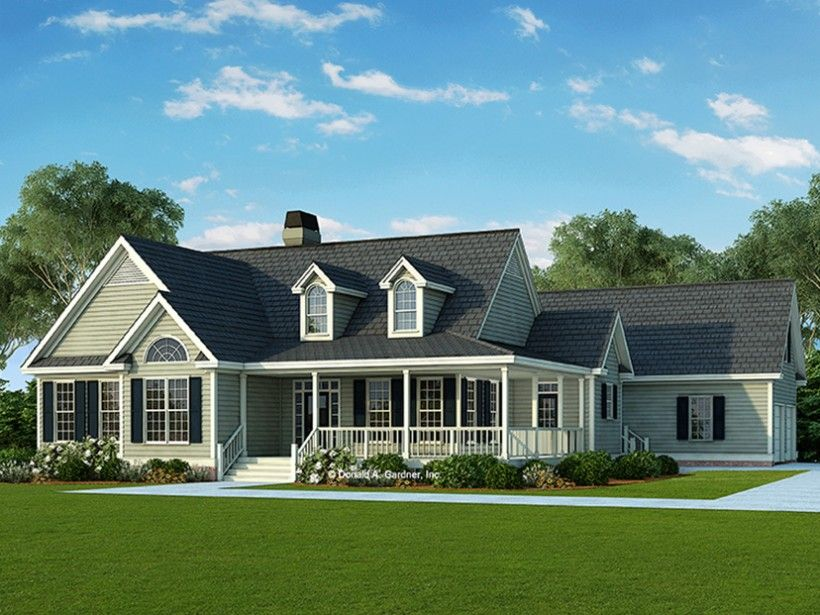 Country Style House Plan 3 Beds 2 Baths 1873 Sq Ft Plan 929 790