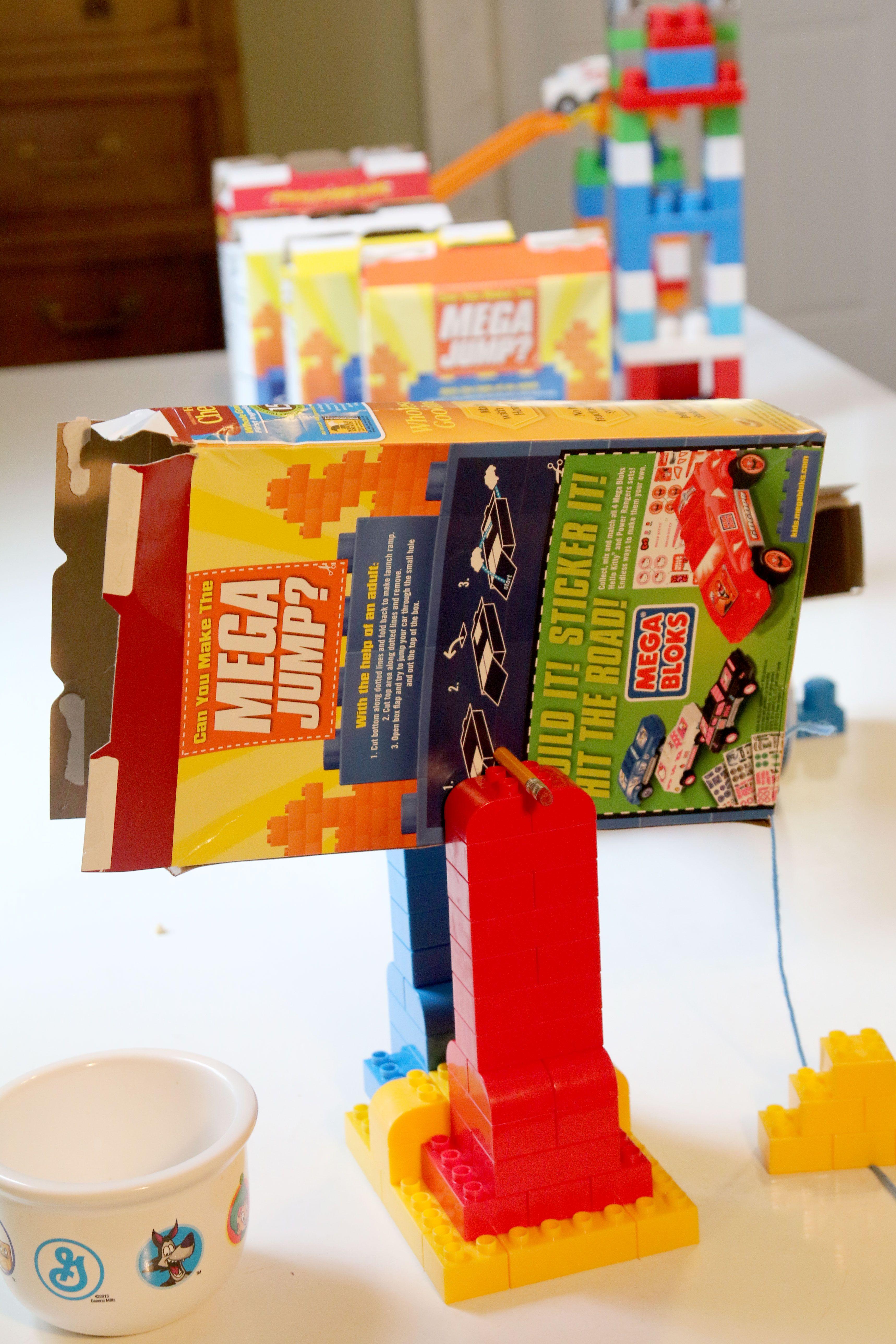 Rube Goldberg Machine To Pour Cereal