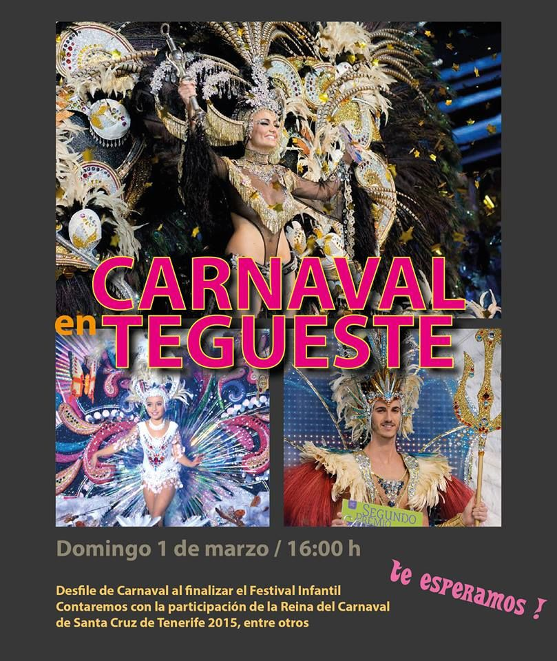 Grupo Mascarada Carnaval: Carnaval en Tegueste