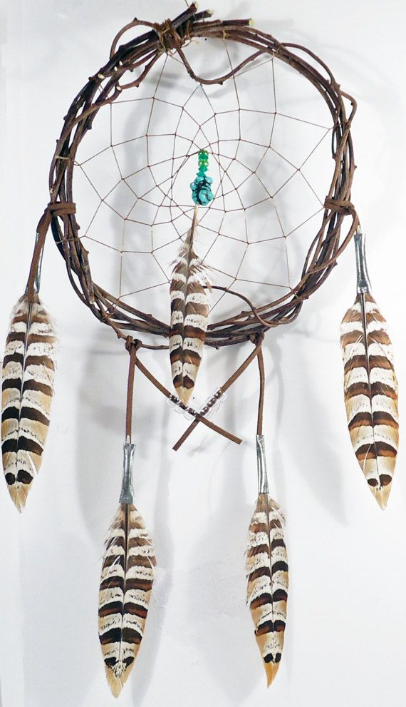 Traditional Turquois Nugget Dream Catcher Wall Hanging Dreamcatcher