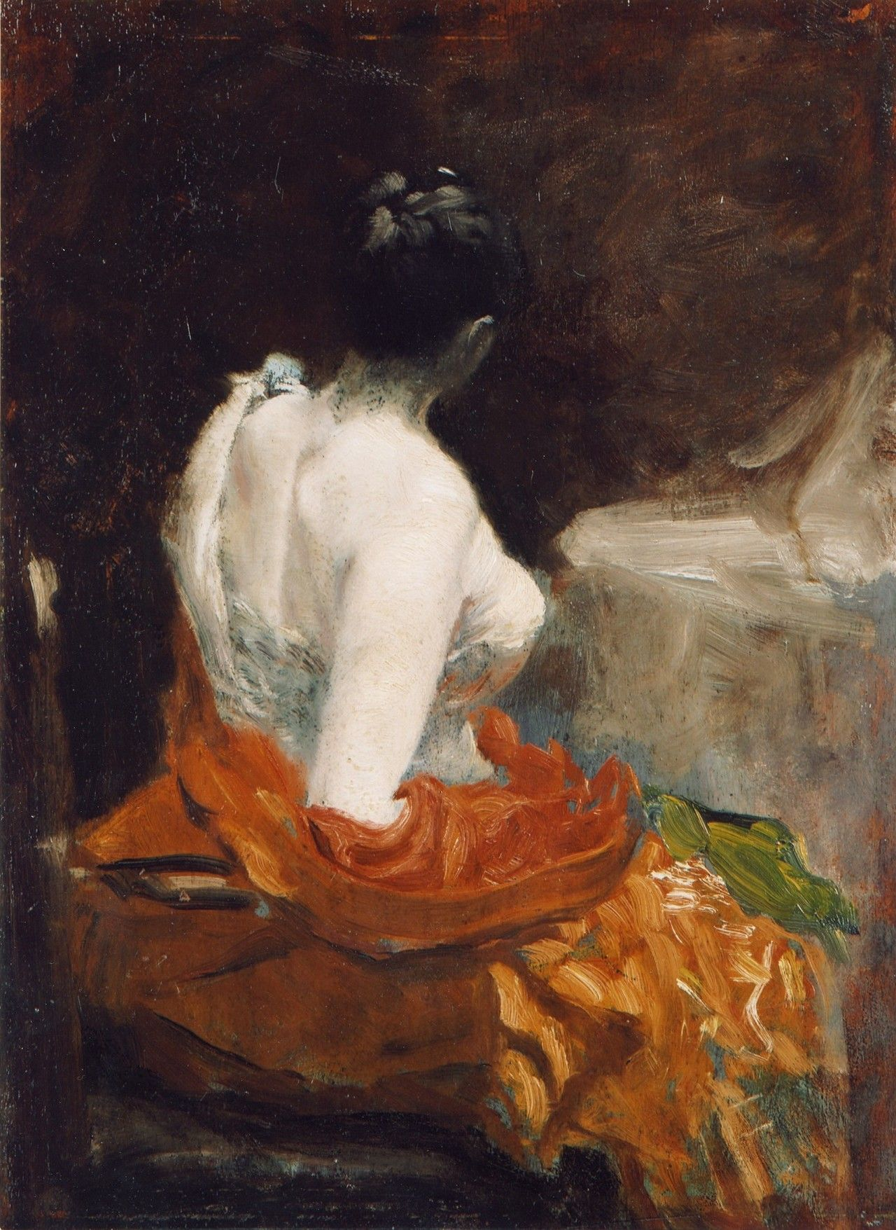 fleurdulys:  Prima del ballo - Giuseppe de Nittis 1879