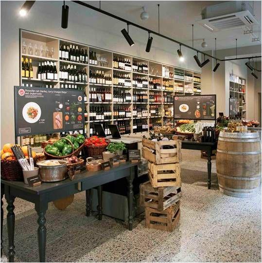 Inspiration In Retail Gourmet Food Store Food Store Gourmet