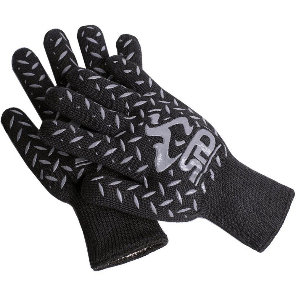1 Pair Spd Best Heat Resistant Gloves Silicone Bbq Oven Gloves