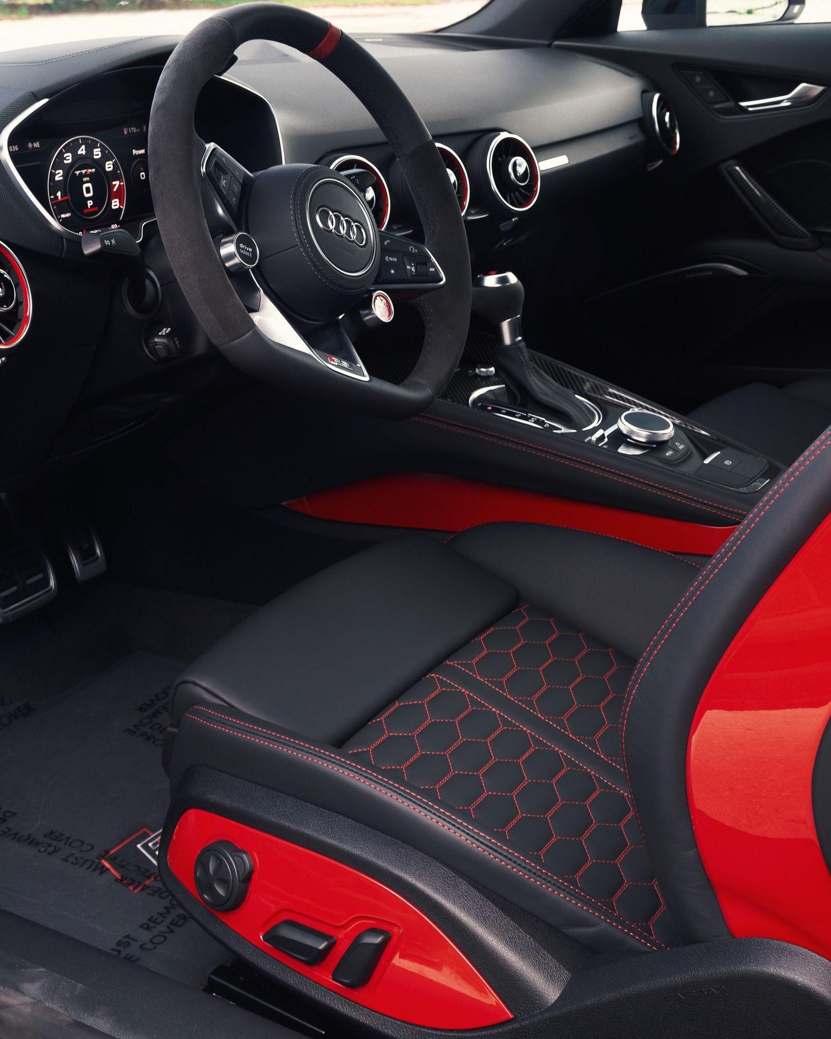 Refreshed 2019 Ttrs In 2020 Audi Tt Interior Audi Tt Rs Audi Tt