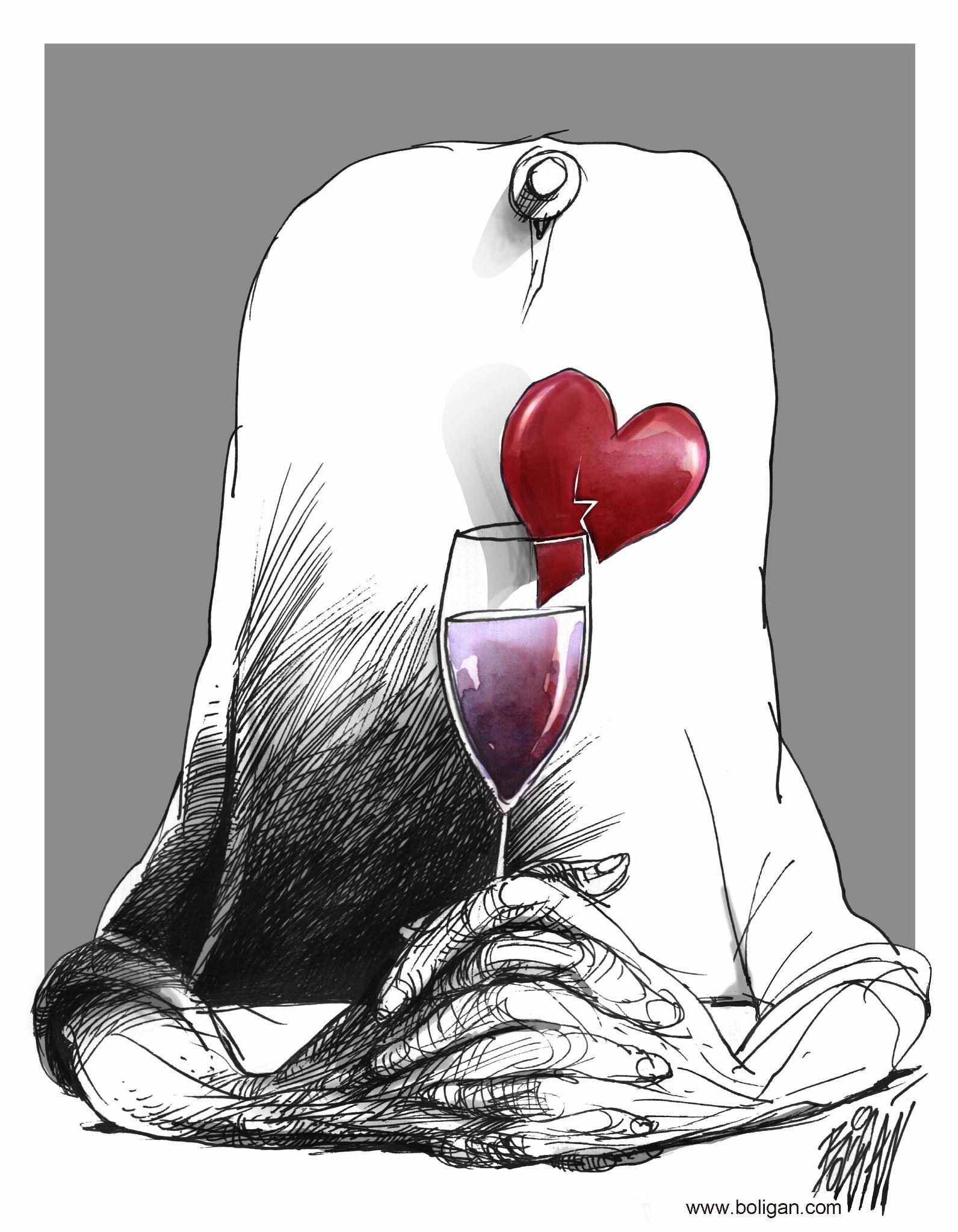 Angel Boligan – social illustrations