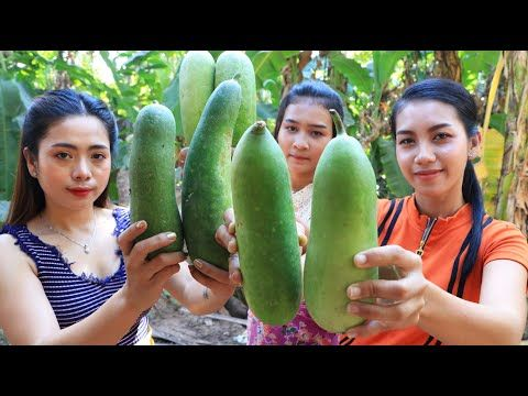 Cooking Winter melon with pork recipe - Natural Life TV