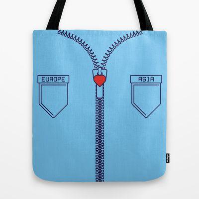 istanbul  Tote Bag by creaziz - $22.00