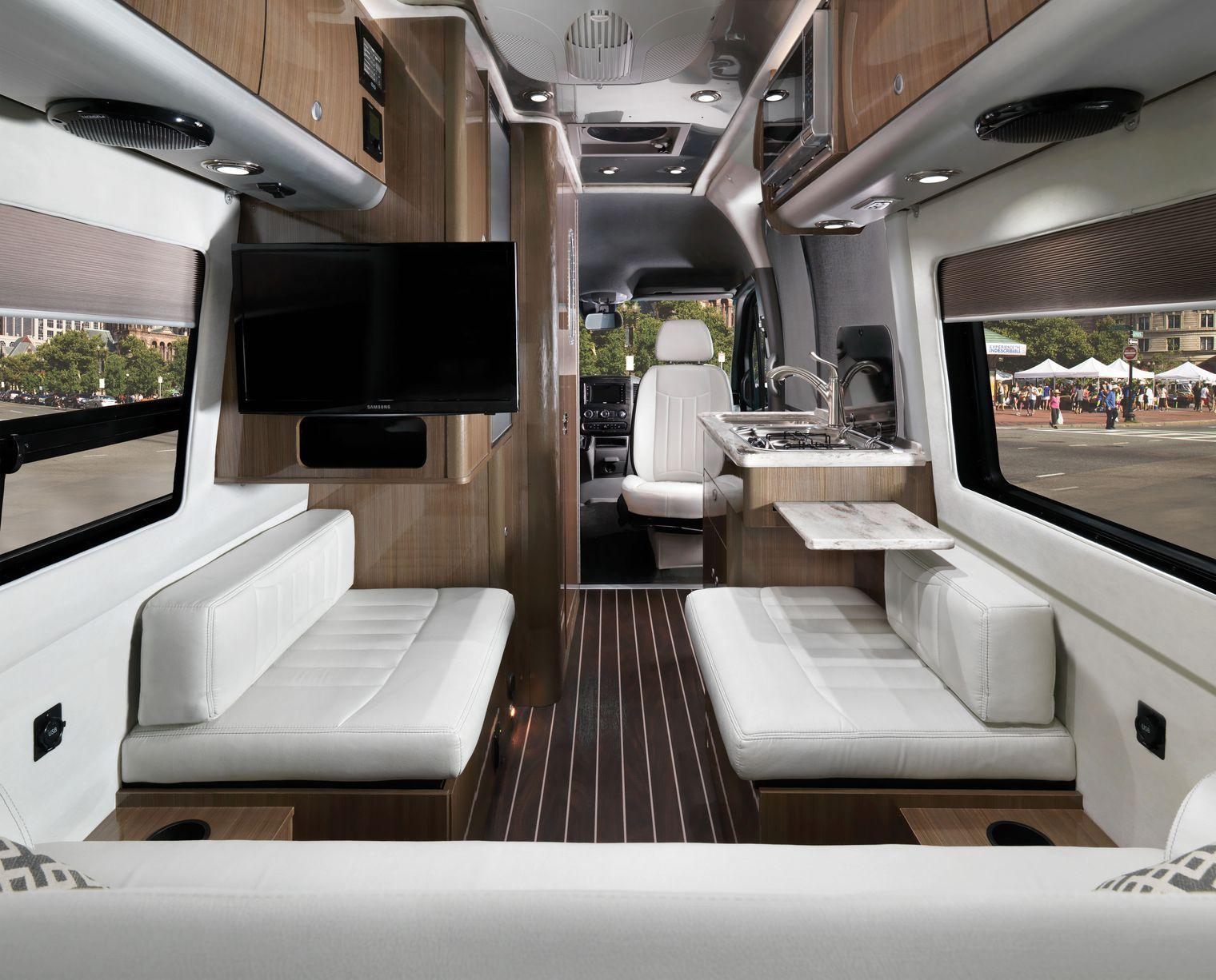 Airstream Debuts New Compact Luxury Camper Van Motorhome