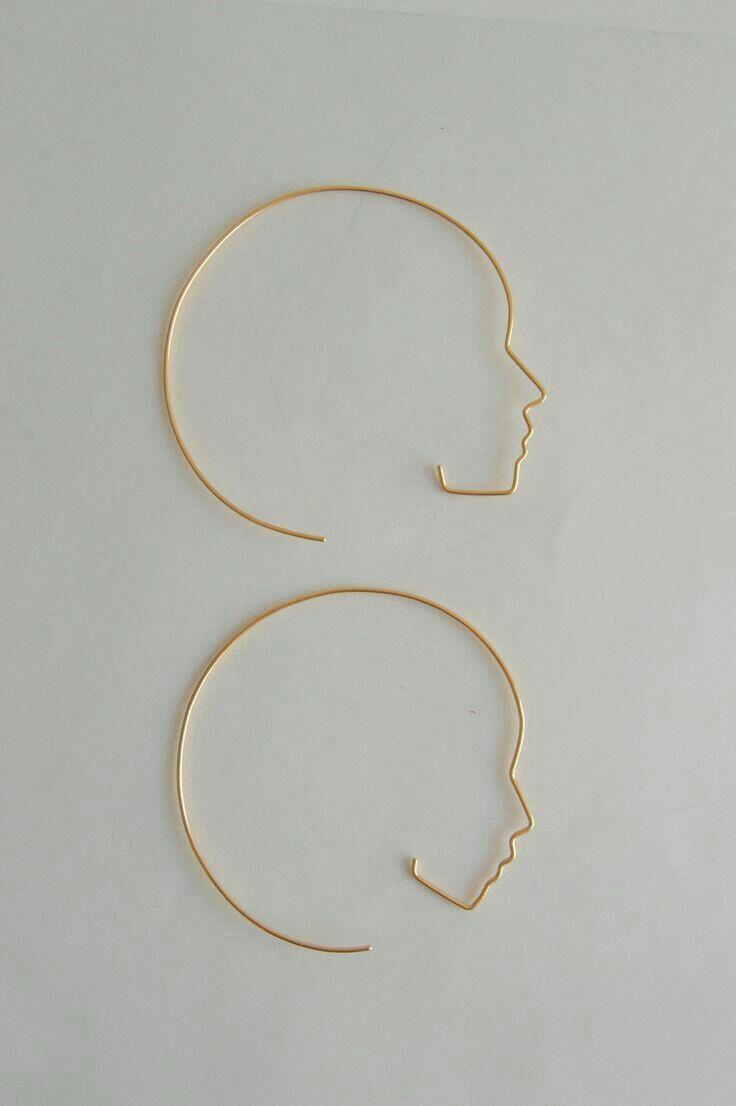 Pin By Odus On Jewelry Earrings Minimalist Jewelry Face Earrings Jewelry