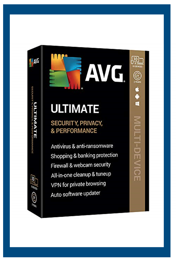 Avg Technologies Avg Ultimate 2020 10 Devices 2 Year 2020 Computer Security Small Business Software Password Protection