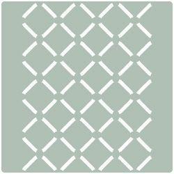 Stencil plantilla para paredes geometrica 016 stencil - Plantillas para pintar paredes para imprimir ...