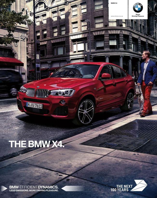 BMW X4 Brochure Bmw x4, Bmw, New bmw