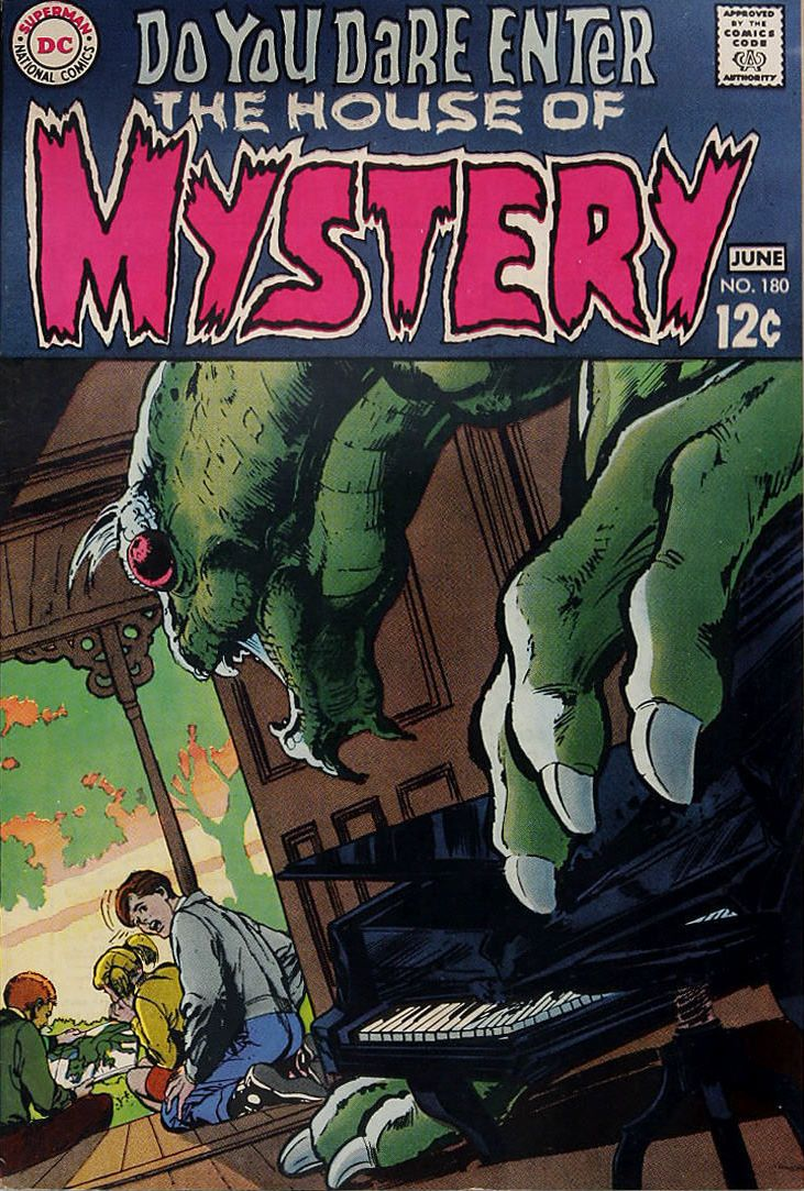 Neal adams and the house of mystery comics horror