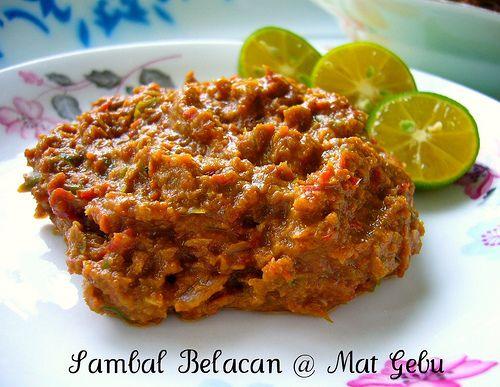 Sambal Belacan Makanan Resep Masakan Malaysia Resep Makanan