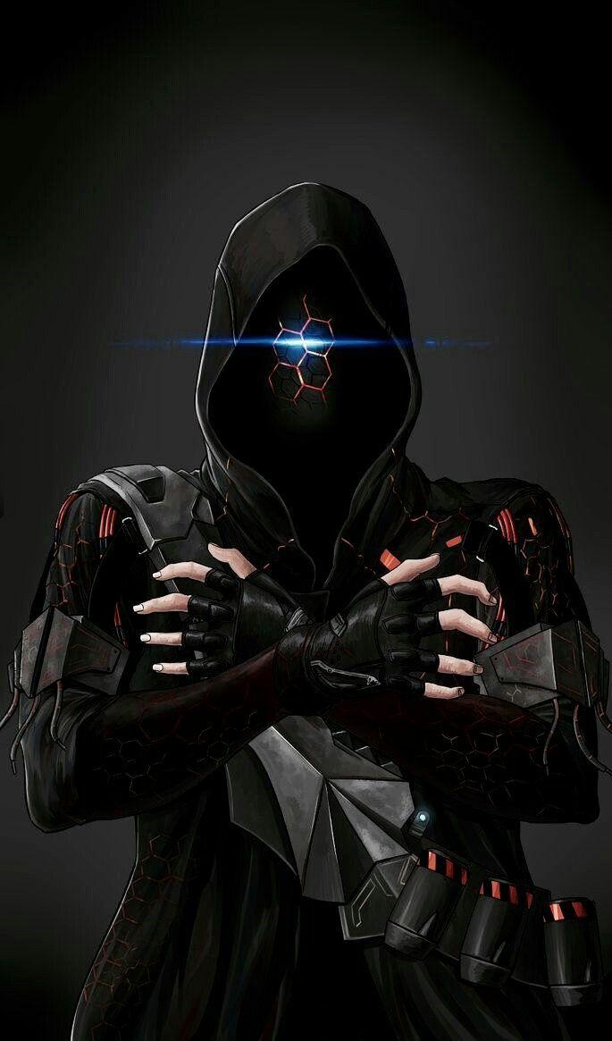 """artificial17: """"Cross-fire ghost by Jazzjack-KHT devianart """""""