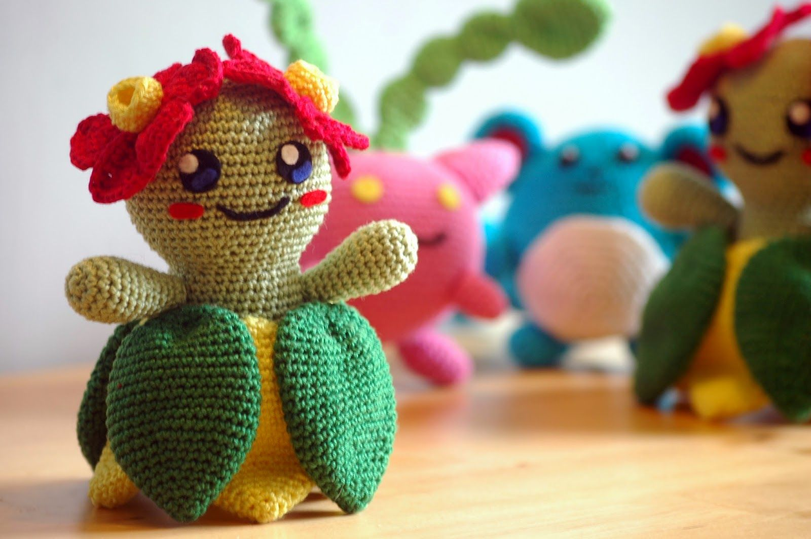 Crochet pattern Bellossom | Pokémon, Ganchillo y Tejido