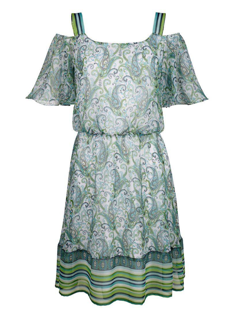 Druckkleid in modischem Paisleydessin   Sommer kleider