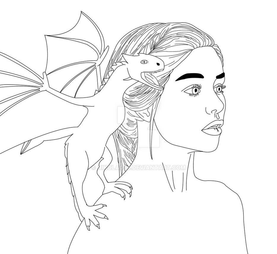 Gra O Tron Ksiazka Do Kolorowania Szukaj W Google Tron Female Sketch Art