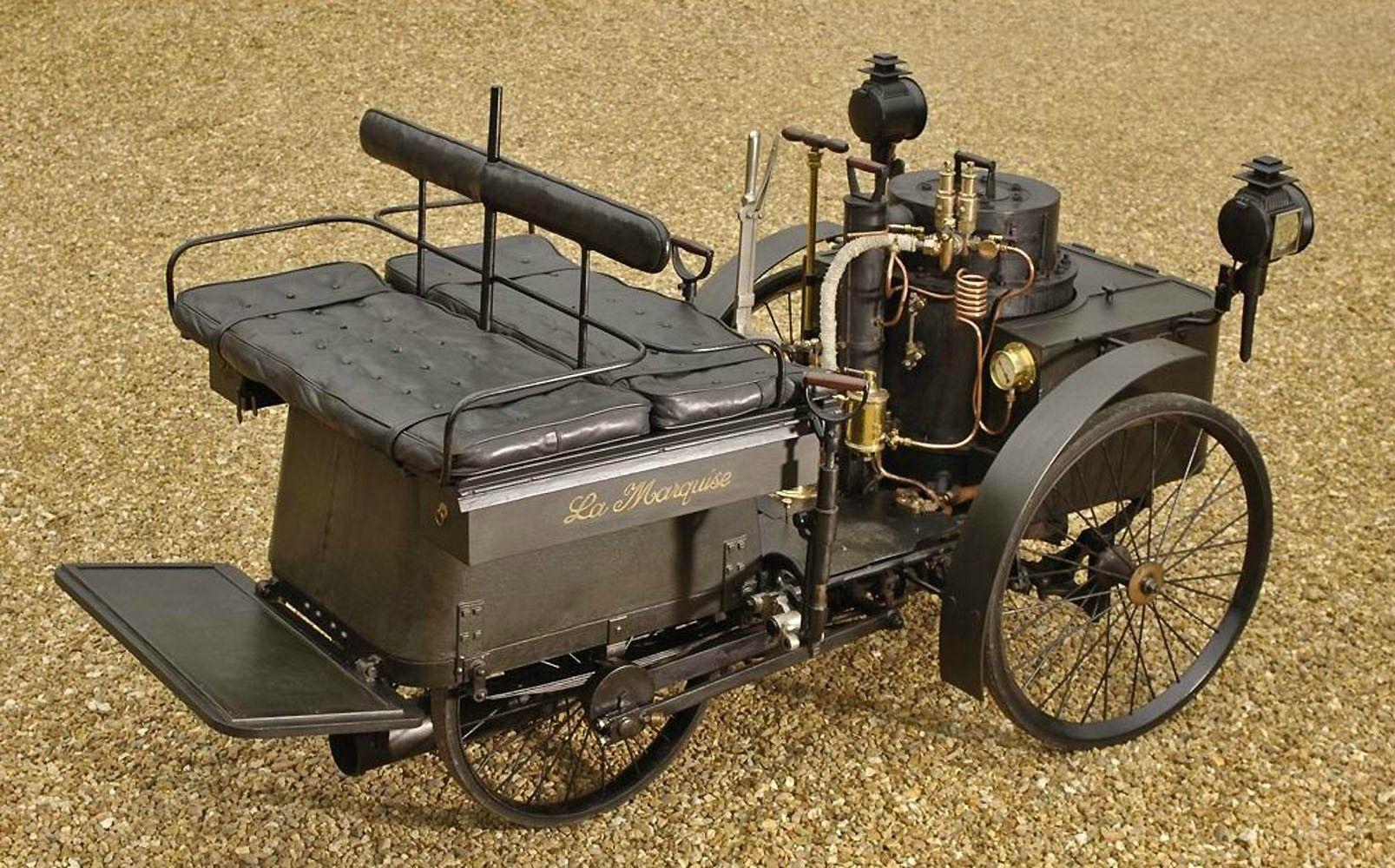 1884 De Dion Bouton Et Trepardou Dos A Dos Is The Oldest Running