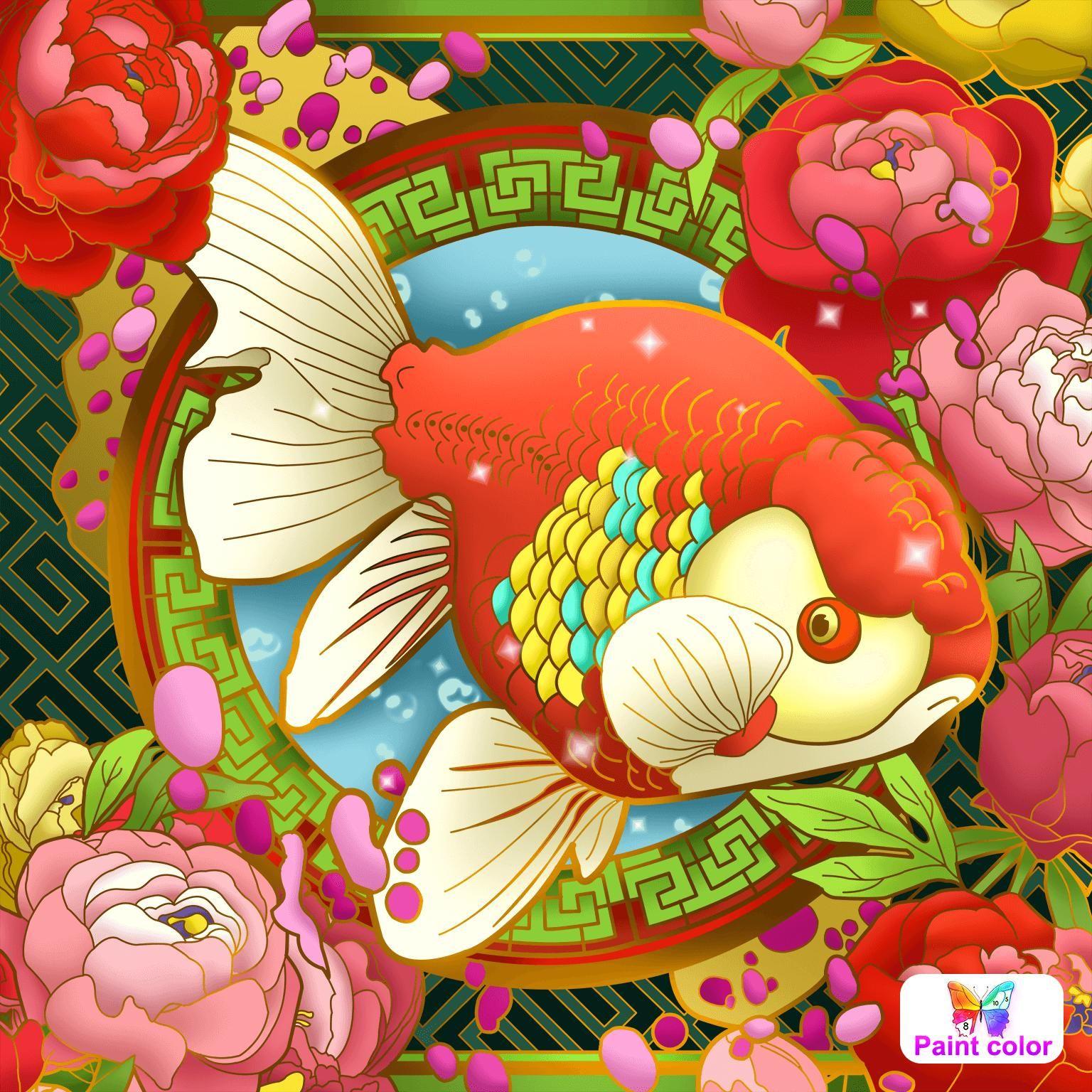 Paint Color   Coloring book app, Colorful pictures ...