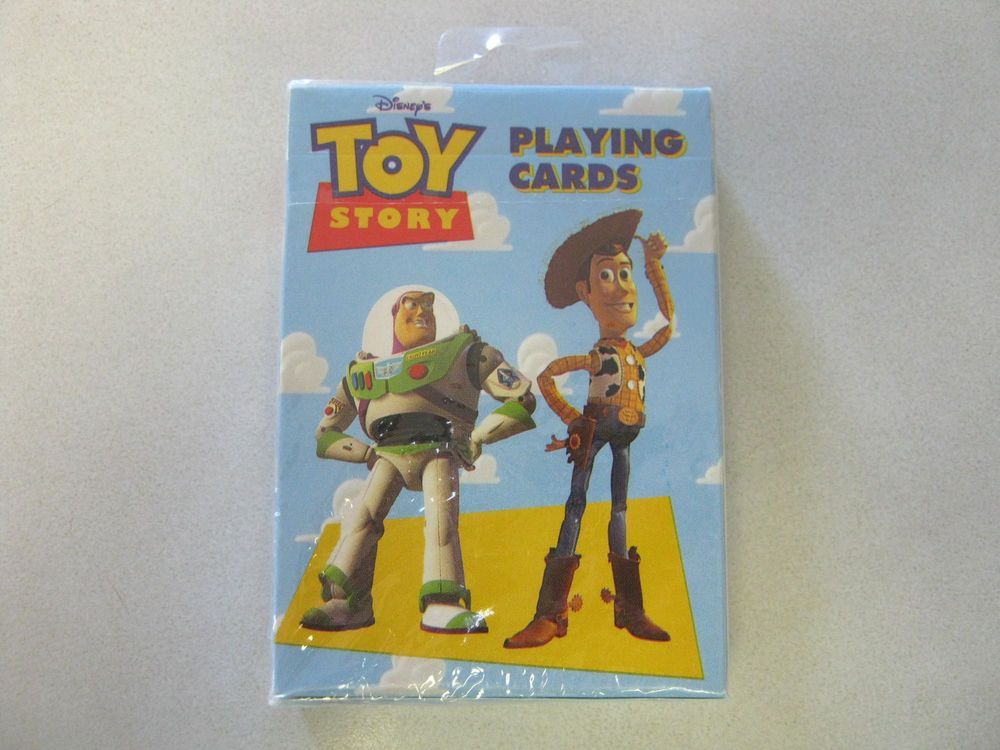 Toy Story Playing Cards Deck Disney Pixar Woody Buzz