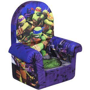 Marshmallow High Back Chair Teenage Mutant Ninja Turtles High Back Chairs Chair Turtle Room
