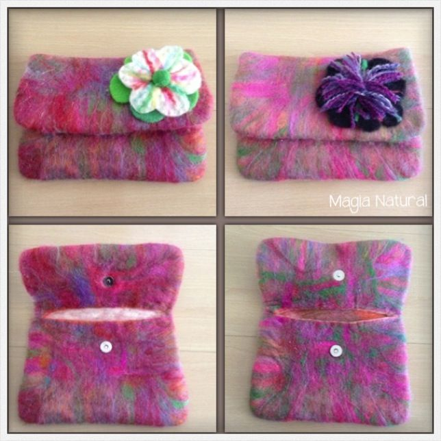 wet felting by Magia Natural