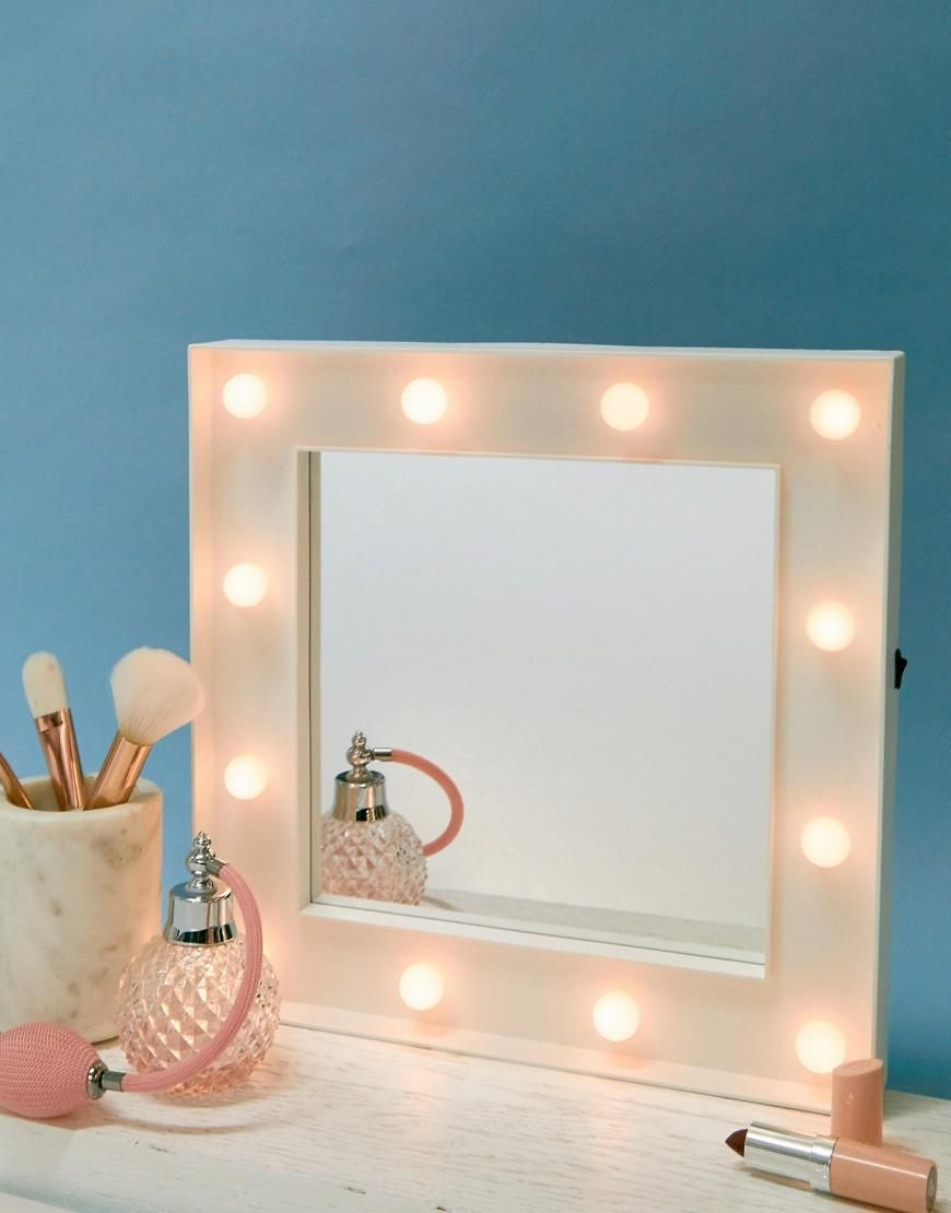 Spring Adorewe Asos Thumbs Up Hollywood Light Mirror