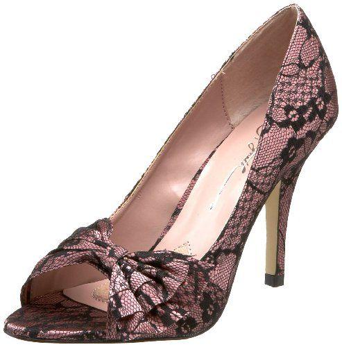 Gwyneth Shoes Women's Queenie Open-Toe Pump