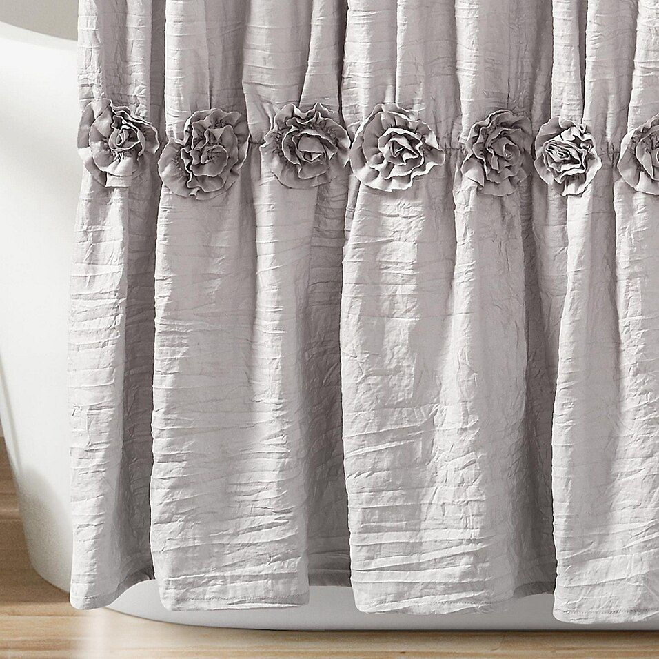 rosettes 72 inch x 96 inch shower