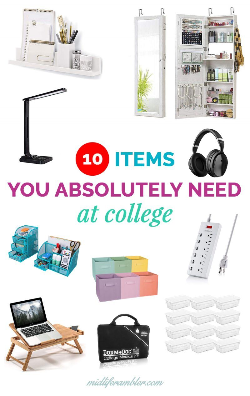10 Essentials You Need for Your College Dorm that Even a Total Minimalist Will Use images